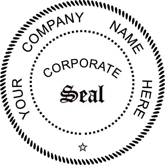 Comfortable corporate seal template ideas example resume for Common seal template